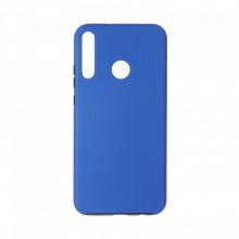 Husa Samsung Galaxy A40 - 360 Fully cu Spate din Policarbonat si Folie din Silicon - Blue