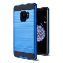 Husa Samsung Galaxy S9 Antisoc Albastra Dublu Strat