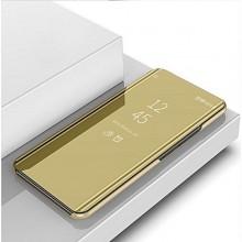 Husa Samsung Galaxy A50 | A50s | A30s Book Cover Clear View Gold