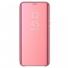 Husa Samsung Galaxy A6 (2018) Book Cover Clear View Rose