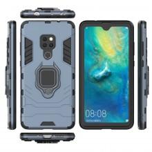 Husa Huawei Mate 20 Bleumarin Military cu Inel