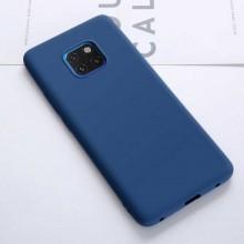 Husa Huawei Mate 20 PRO Albastra din Silicon Premium Ultra Soft