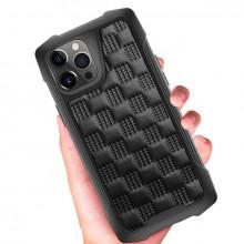 Husa pentru Apple iPhone 12, cu protectie ridicata, Fashion, rezistenta la socuri, negru