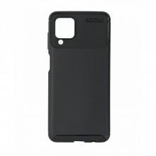 Husa Samsung Galaxy A12 flexibila din silicon, negru A12-M1-V1