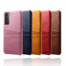 Husa Samsung Galaxy S21 5G, Dual Card Slots, galben, S215G-003