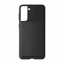 Husa Samsung Galaxy S21Plus flexibila din silicon, negru S21P-M1-V1