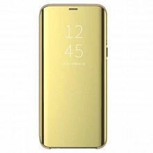 Husa Huawei P30 PRO Book Cover Clear View Gold