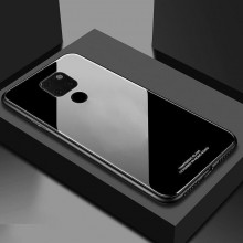 Husa Huawei Mate 20 Glass Case Neagra