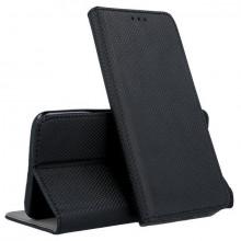 Husa Huawei P40 LITE E | Y7p - Flip Book Textile cu Magnet Smart - Negru