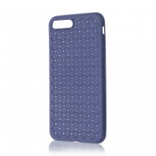 Husa iPhone 7-8 PLUS Albastra Flexibila din Silicon