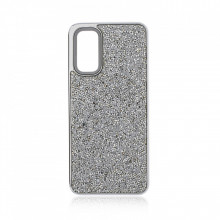 Husa pentru Samsung Galaxy S20 PLUS - Husa Luxury Glitter Diamond Silver