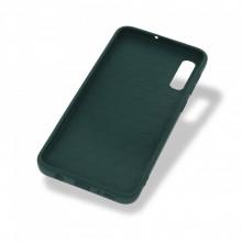 Husa Samsung Galaxy A50 | A50s | A30s - Silicon Antisoc cu Protectie Glisanta Pentru Camera - Verde
