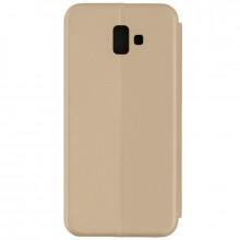 Husa Samsung Galaxy J6 PLUS Flip Magnet Book Type Gold