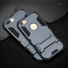 iPhone 7 sau 8 - Husa Strong Army Armor Blue