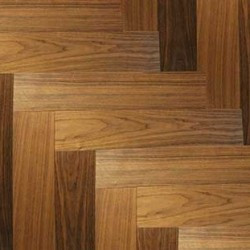 PISO DE INGENIERIA HERRINGBONE WALNUT