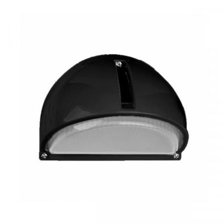 ZIDNA AL LAMPA 130 CRNA/IP54/E