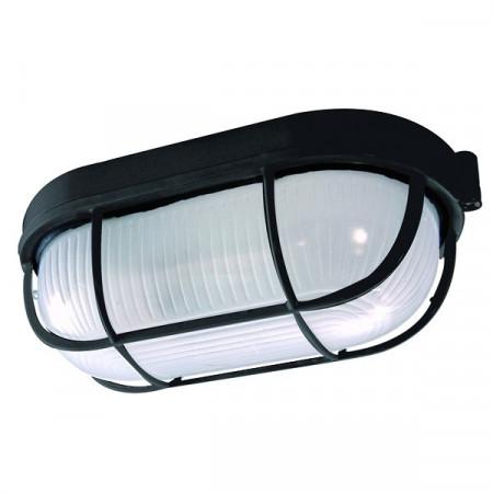 AL LAMPA FIDO CRNA/IP54/E27/60