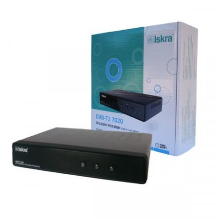 Iskra DVB-T2 7020BK