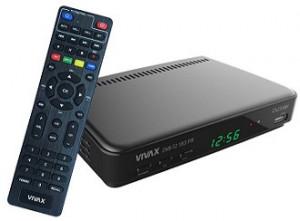 Vivax DVB T2 183 risiver