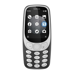 Nokia 3310 3G DS Charcoal