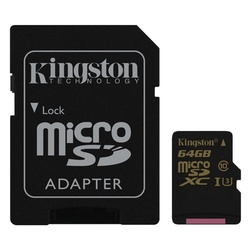 Kingston SDCG/64GB gold