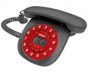 Uniden CE6601 red
