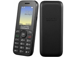 Alcatel 1016D Volcano black