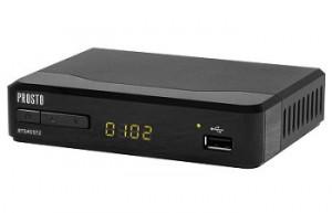 Prosto DVB T2 HDR H.265