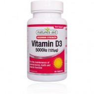 Vitamina D3 5000iu Natures Aid®