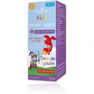 Kidz Immune Support cu vitamina C, D3 si zinc, 150ml