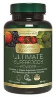 Ultimate Superfoods Natures Aid (31 superalimente si enzime organice) pudra, 150 g
