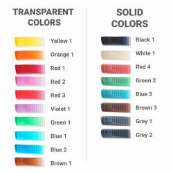 Pigment 3D-Basics pentru rășină