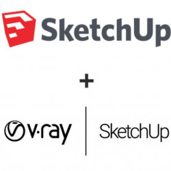 Pachet SketchUp Pro 2020 + V-Ray Next for SketchUp