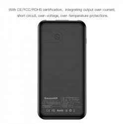 Baterie Externa, Incarcare Wireless 8000 mAh, Baseus Black