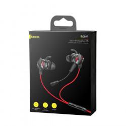 Casti Audio Cu Microfon Baseus Gamo C15, RED