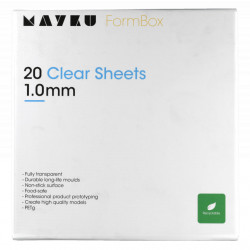 Mayku FormBox Clear Sheets 1.0mm (20 Pack)