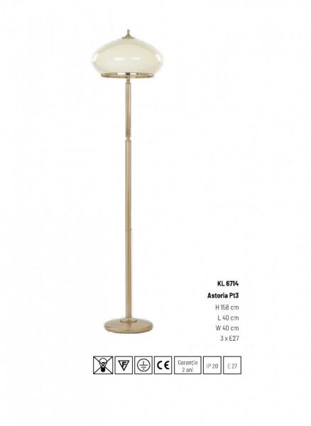 LAMPADAR ASTORIA KL6714 AUR ANTIC