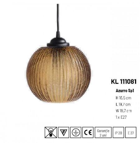 LUSTRA AZURRO KL111081