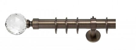 Galerie simpla - KULA CRYSTAL /35 mm - bronz