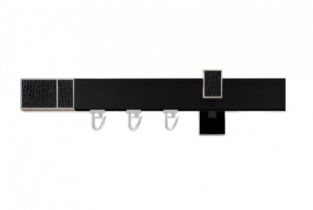 Galerie SIMPLA LINIE NEAGRA Square Line - Boss negru CU CAPACEL