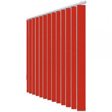 Jaluzele verticale Cora 5076 ROSU APRINS