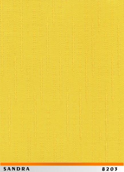 Jaluzele verticale SANDRA 8203 GALBEN