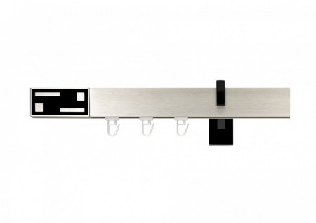 Galerie SIMPLA Square Line - G-TECH negru cu suport negru