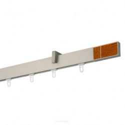 Galerie SIMPLA SQUARE LINE prindere tavan - CIRES crom mat