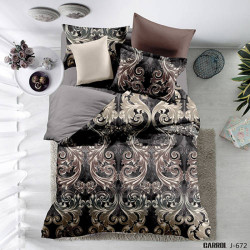 Lenjerie de pat poplin - două persoane (QY-436)