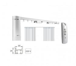 Sina electrica cu telecomanda SOMFY cu deschidere cortina pentru perdele sau draperii