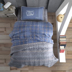 Cuvertură de pat Clasy-matlasată o persoană (CAMPUS V2)