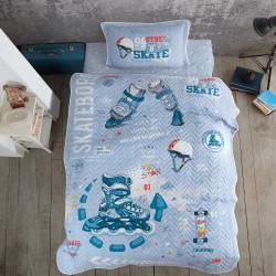 Cuvertură de pat Clasy-matlasată o persoană (SKYLAND)