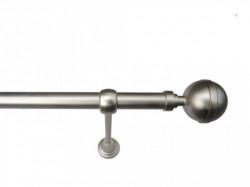 Galerie simpla 25 MM - fara inele - KULA LUX CROM MAT