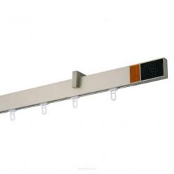 Galerie SIMPLA SQUARE LINE prindere tavan - CIRES NEGRU crom mat